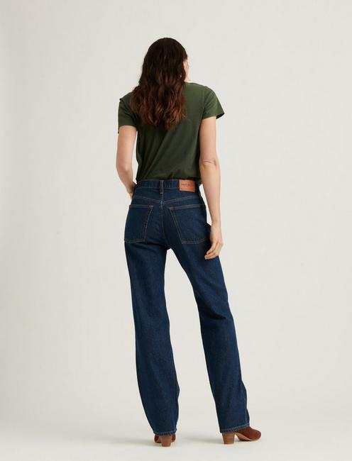 HIGH RISE RELAXED STOVE PIPE JEAN, ESEN
