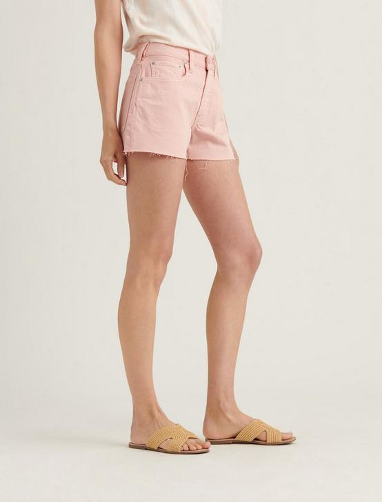 BOYFRIEND JEAN SHORT, VEILED ROSE CT, productTileDesktop