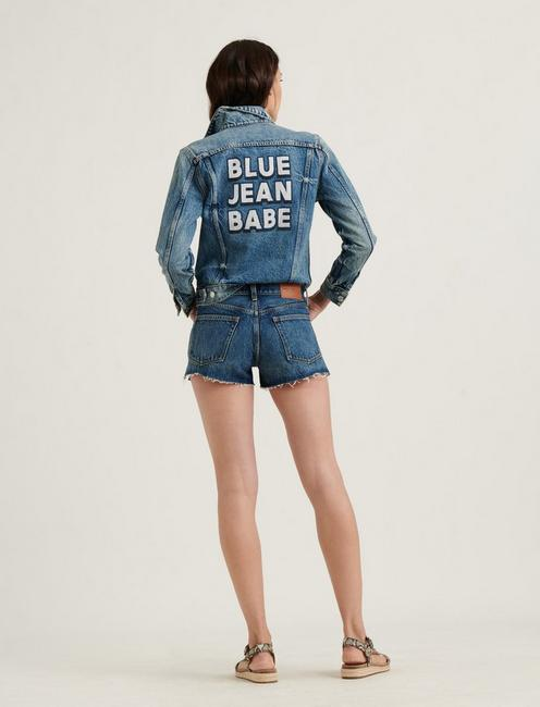 MID RISE CUT OFF JEAN SHORT, ENDLESS CT