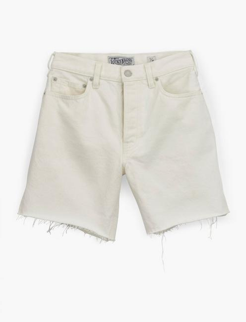 TRAVELER JEAN SHORT, CLEAN WHITE-CT