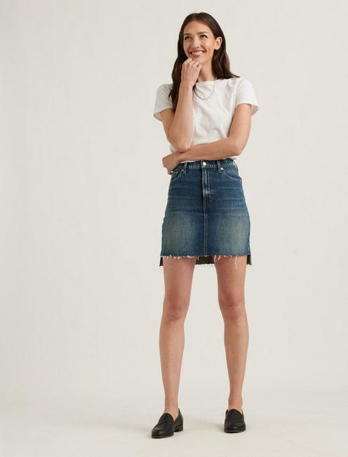MID RISE MINI SKIRT, NOBLE STEP