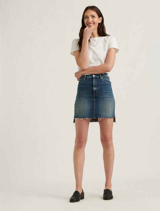Mid Rise Mini Skirt