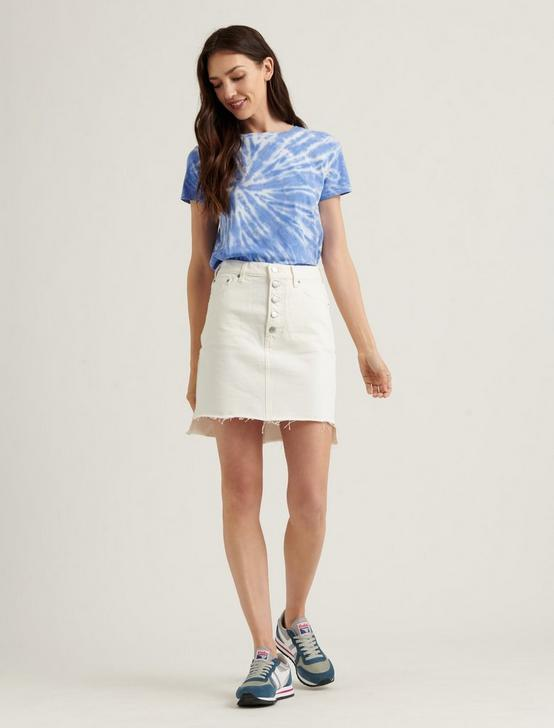 MID RISE MINI SKIRT, CLEAN WHITE-STEP, productTileDesktop