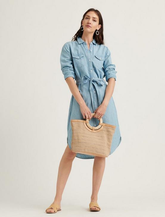 RELAXED SHIRT DRESS, MOONEY, productTileDesktop