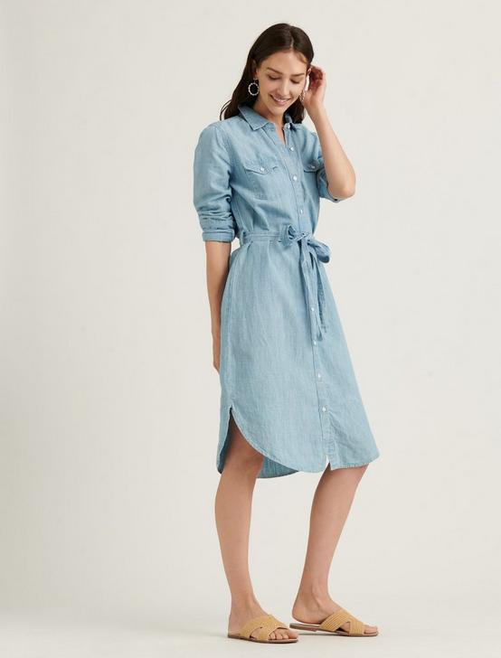 RELAXED SHIRT DRESS, MOONEY, productTileDesktop