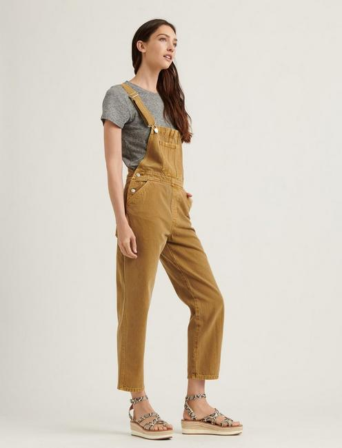 RELAXED OVERALL, BRONZE MIST