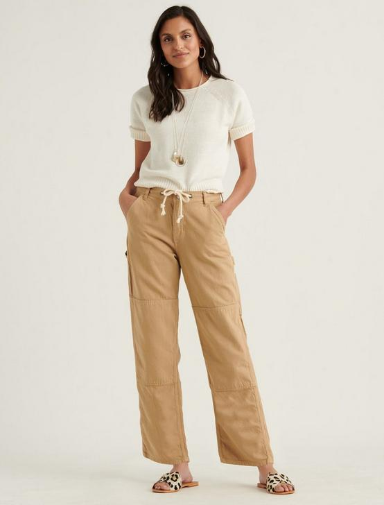 TIE WAIST CARPENTER PANT, INCENSE, productTileDesktop