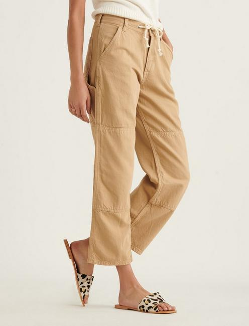 TIE WAIST CARPENTER PANT, INCENSE
