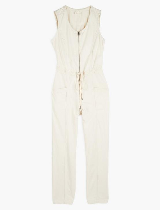 SATURDAY JUMPSUIT, ECRU, productTileDesktop