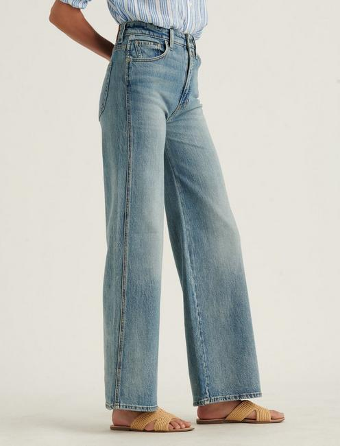 ULTRA HIGH RISE WIDE LEG JEAN, DYNAMIC