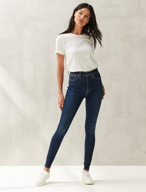 UNI FIT HIGH RISE SKINNY JEAN, INCLUSION BLUE, productTileDesktop