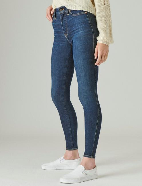 UNI FIT HIGH RISE SKINNY JEAN, INCLUSION BLUE