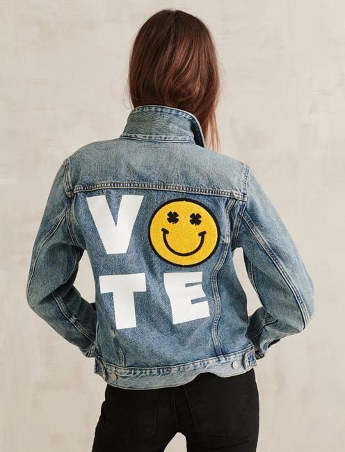 VOTE DENIM TRUCKER, MILO