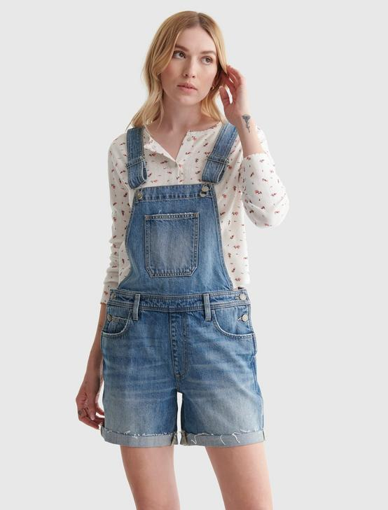 DENIM BOYFRIEND SHORTALL, , productTileDesktop
