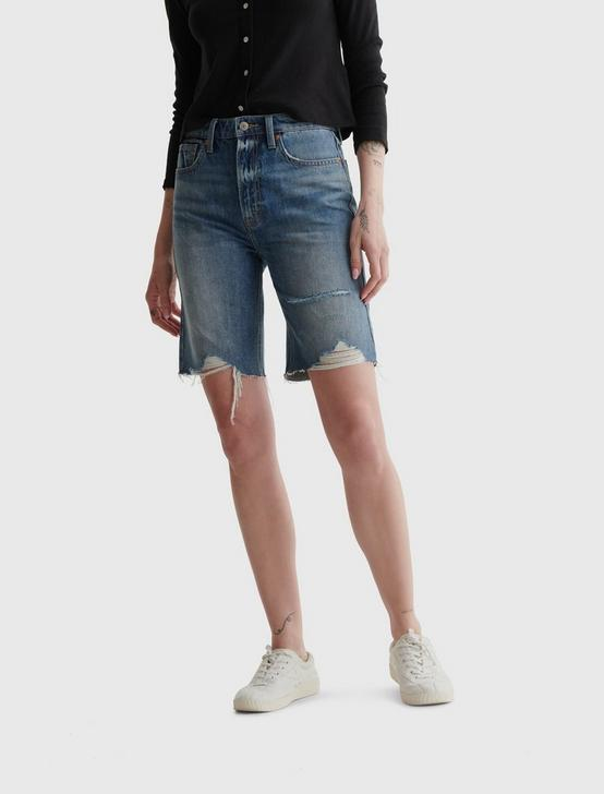 HIGH RISE BERMUDA JEAN SHORT, DELTA, productTileDesktop