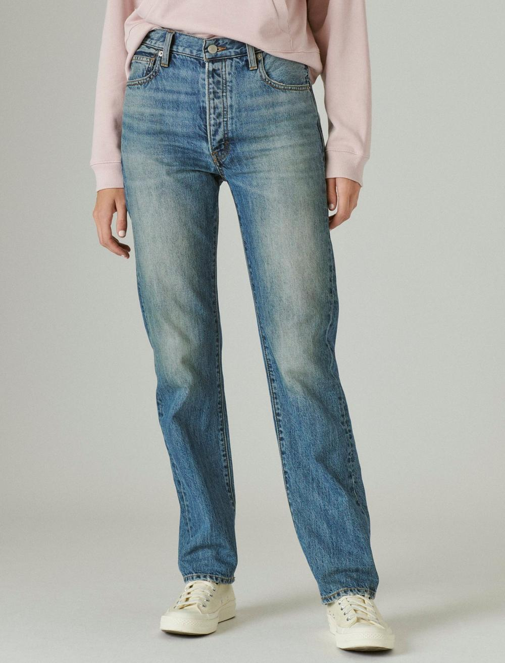 HIGH RISE 90's JEAN, image 4
