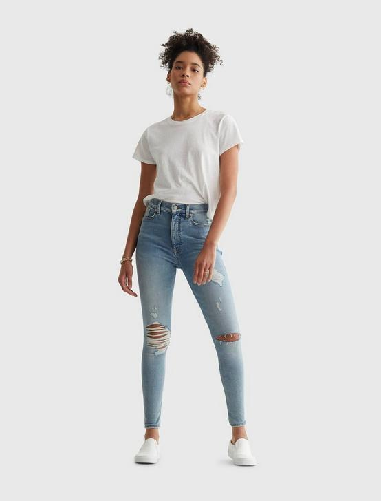 UNI FIT HIGH RISE SKINNY JEAN, BARREN DEST, productTileDesktop