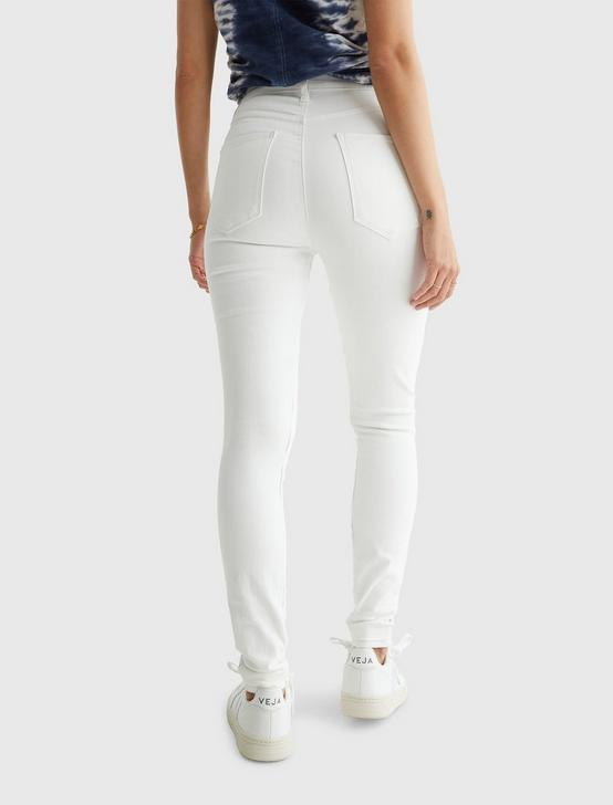 UNI FIT HIGH RISE SKINNY JEAN, BRIGHT WHITE, productTileDesktop