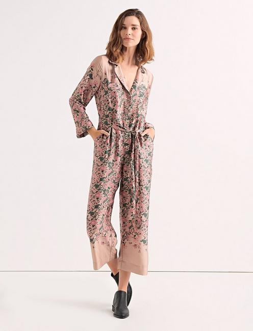 FADED FLORAL JUMPSUIT,