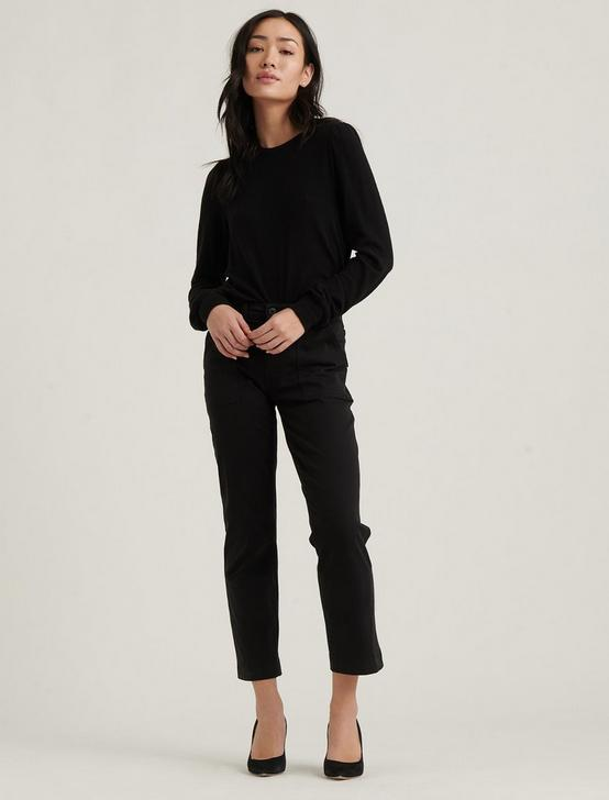 UTILITY STRAIGHT PANT, 001 LUCKY BLACK, productTileDesktop