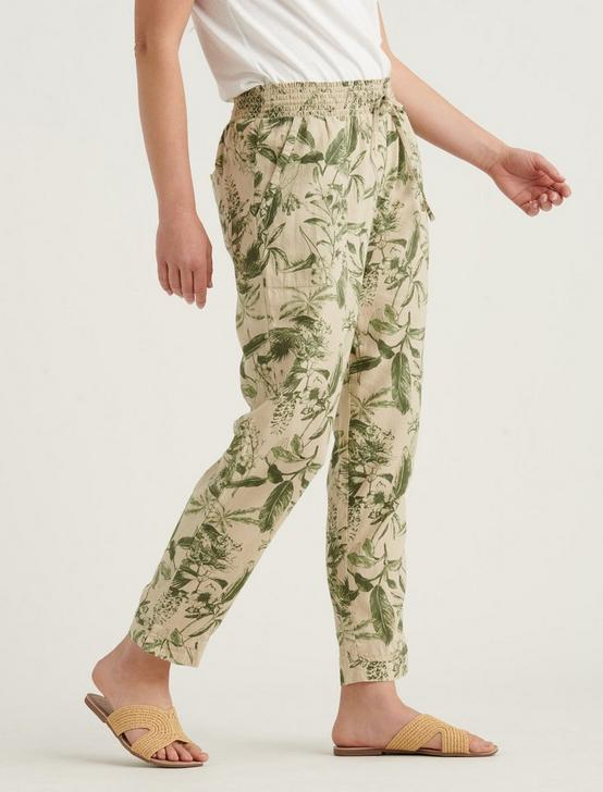 TEIGEN PANTS, GREEN MULTI, productTileDesktop