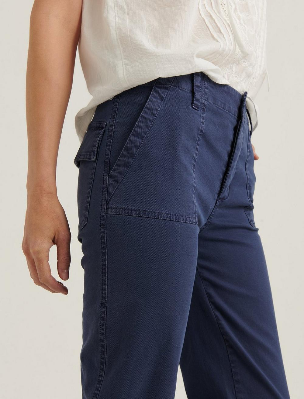 MID RISE UTILITY STRAIGHT PANT, image 4