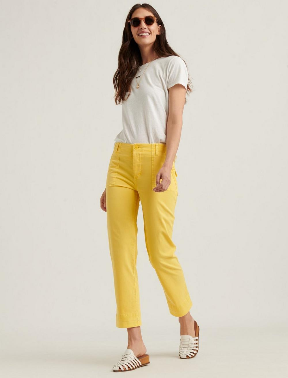 MID RISE UTILITY STRAIGHT PANT, image 1