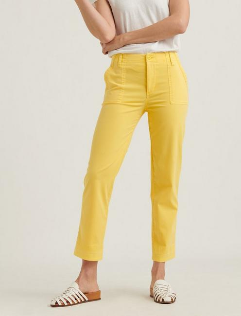 MID RISE UTILITY STRAIGHT, EMPIRE YELLOW