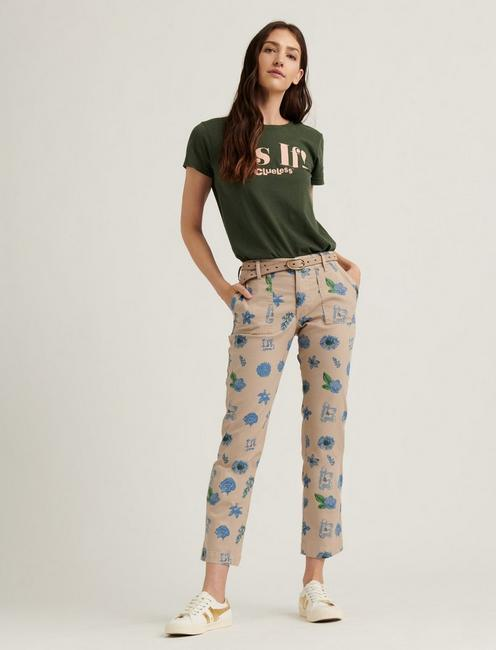 MID RISE UTILITY STRAIGHT, AMANDA FLORAL