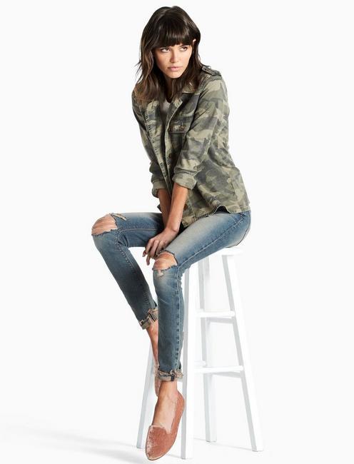 9ca0e1ff5ffc5 Camo Shirt Jacket | Lucky Brand