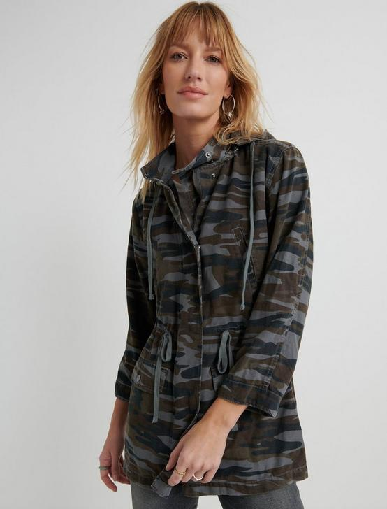 Washed Camo Jacket