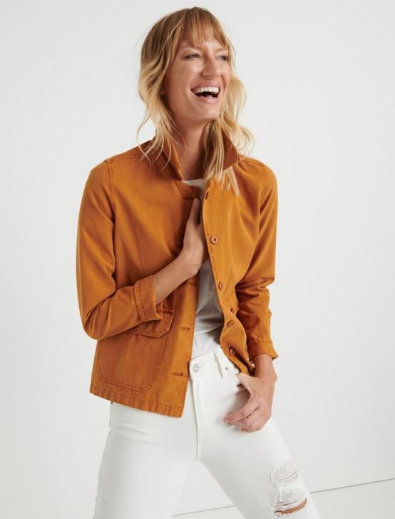 UTILITY SHIRT JACKET, PUMPKIN SPICE, productTileDesktop