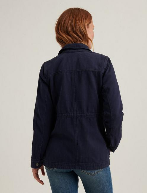 LAUREL UTILITY JACKET, NAVY
