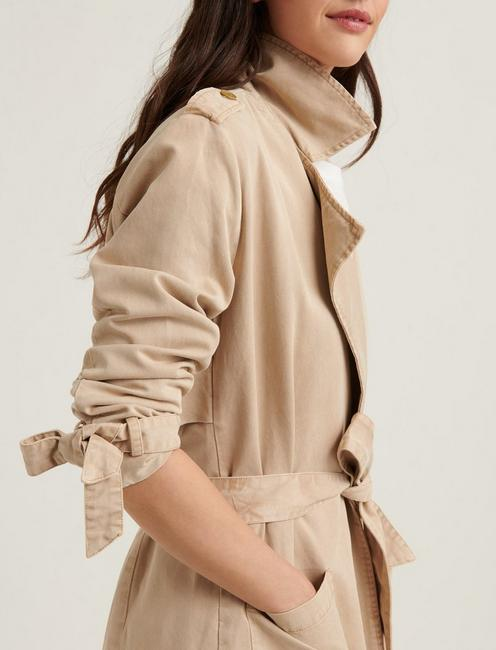 MARGO SOFT TRENCH, KHAKI