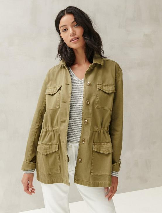 EXPLORER UTILITY JACKET, OLIVE/GREEN, productTileDesktop