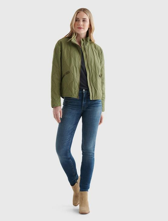 CARRY ON QUILTED JACKET, CAPULET OLIVE, productTileDesktop