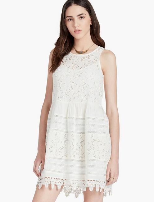 c11046e4ca1 Textured Eyelet Dress