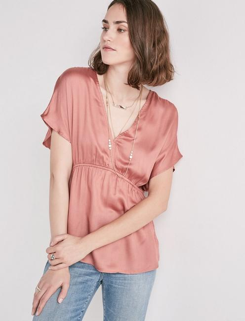 CINCHED WAIST TOP,