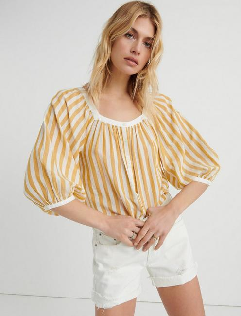 Stripe Banded Top