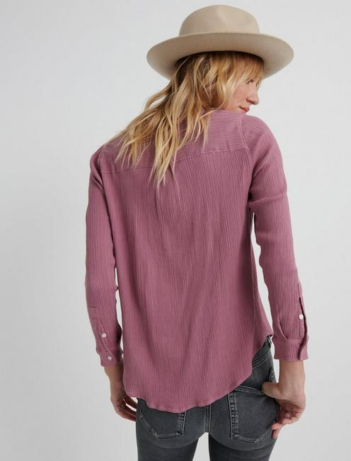 TWO POCKET SHIRT, DUSKY ORCHID