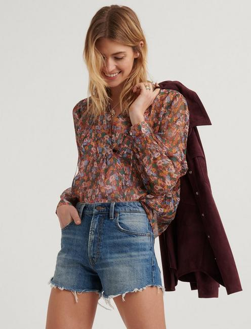 DITSY FLORAL POPOVER PEASANT,