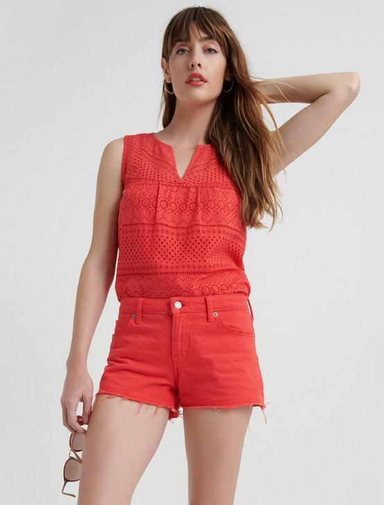 EYELET TANK TOP, , productTileDesktop