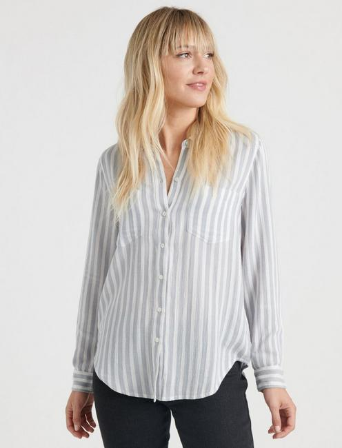 ASHLEY SHIRT, WHITE MULTI