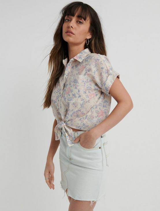 FLORAL SASHA SHIRT, MULTI, productTileDesktop