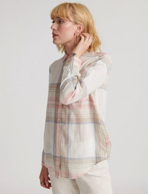 CLASSIC ONE POCKET PLAID SHIRT, MULTI