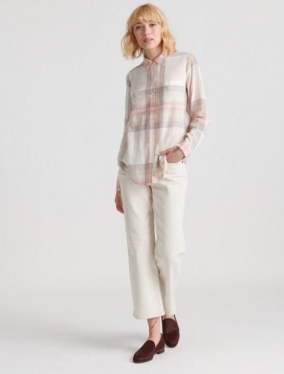 CLASSIC ONE POCKET PLAID SHIRT, MULTI, productTileDesktop