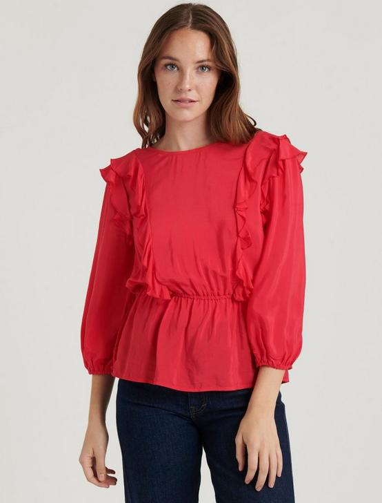 NANETTE TOP, TRUE RED, productTileDesktop