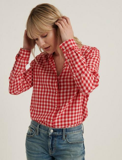 CLASSIC ONE POCKET PLAID SHIRT,