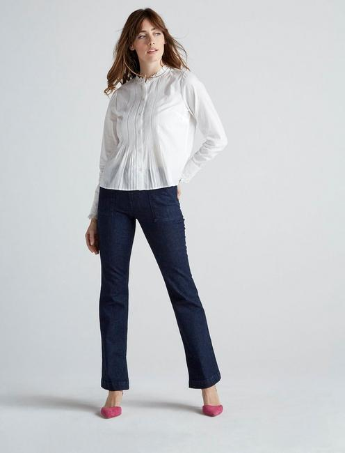 ELEANOR BLOUSE, LUCKY WHITE