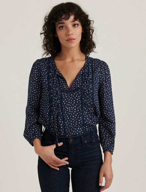 PLEATED POPOVER TOP,